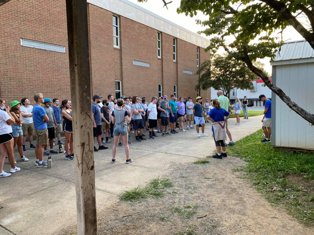 Final muster of 2021 Home Camp